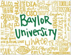 Baylor Word Cards