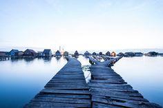 A Bokodi-tó a Komárom-Esztergom megyei Bokodon 2015. július 23-án este. MTI Fotó: Bodnár Boglárka