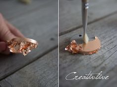 Basteln DIY Betonschmuck - CreativLIVE A Season of Depression Article Body: Don't be surprised when Diy Jewelry Rings, Diy Jewelry To Sell, Jewelry Crafts, Jewelry Making, Cement Jewelry, Ceramic Jewelry, Resin Jewelry, Jewellery, Diy Resin Crafts