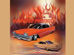 Jeff Norwell illustrates '60 Dodge Phoenix