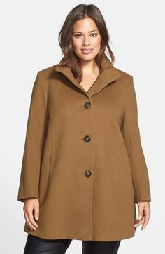 Fleurette Loro Piana Wool Car Coat (Plus Size) (Nordstrom Exclusive) available at #Nordstrom