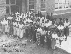 Class of 1952 from Royal Street High School in Hattiesburg, MS