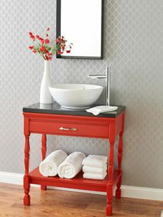 1000 images about funky bathroom ideas on pinterest for Funky bathroom vanities