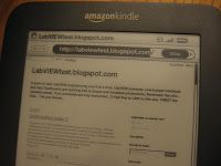 Kindle and LabVIEW?