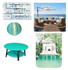"""""""Beach House"""" by ggdimeglio26 ❤ liked on Polyvore featuring interior, interiors, interior design, home, home decor, interior decorating, Pottery Barn, Cultural Intrigue and DutchCrafters"""