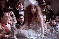 Carol Kane in the '70s Ken Russell film Valentino.