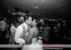 #bride and #groom on the dance floor by #durhamweddingphotographer www.carolinezphotography.com