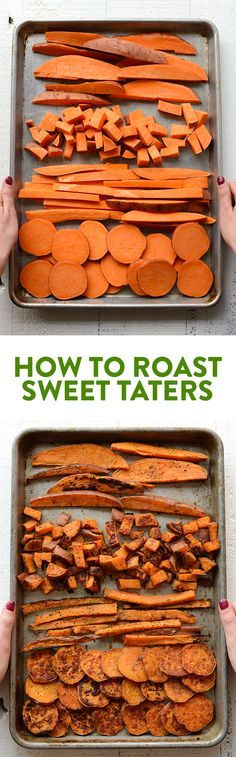 Looking for a root vegetable to add to your meal prep or buddha bowl? Look no further! Here\'s an easy tutorial on how to roast sweet potatoes!