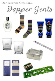 Perfect gifts for all your Dapper Gents!