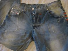 Diesel Industry Jeans Adidas KURREN Collaboration Mens 39x34 Wash 008KK #DIESEL…