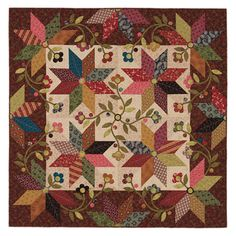 Mocha Stars Quilt by Kim Diehl...<3 her quilts! Would love to use her fabric stash...