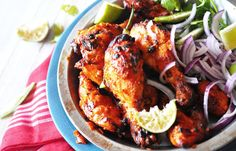 Tandoori-chicken: hoping it can be as good as it looks!