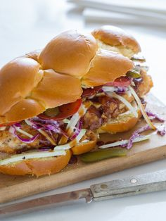 Family Style Fried Chicken Sandwich