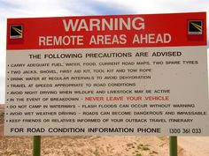 Because the outback should always be respected. | 29 Signs You'll Only See In The Outback