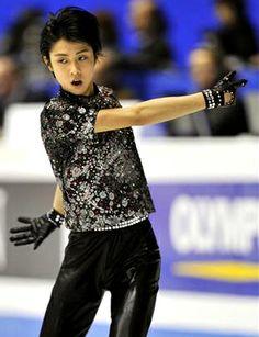 Yuzuru Hanyu / Japanese figure skater.