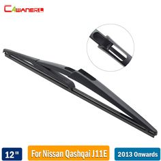 "Cawanerl 1 Piece 300mm 12"" Vehicle Rear Windscreen Wiper Blade For Nissan Qashqai J11E 2013-2017 Car Rubber Back Window Wiper #Affiliate"