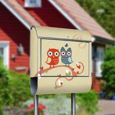 """Motivbriefkasten mit Standfuß """"Briefkasten"""""""