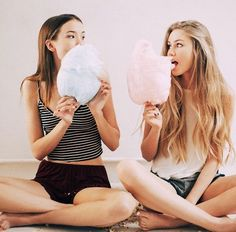 Cotton candy cute