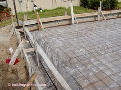 tests moisture after concrete has been setting for 16 hrs Metal Barn Homes, Metal Building Homes, Building Design, Building A House, Concrete Pad, Concrete Driveways, Concrete Floors, Concrete Slab Foundation, House Extension Plans