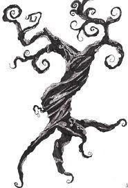 tim burton vines tattoo - Google Search
