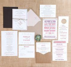 Wedding Invitation Designers - Southern Fried Paper | Oh So Beautiful Paper but for babies...