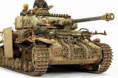 Made by Kev Smith. Tamiya Model Kits, Tamiya Models, Panzer Iv, Tiger Tank, Model Hobbies, Model Tanks, Armored Fighting Vehicle, Military Modelling, Ww2 Tanks