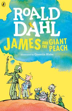 James and the Giant Peach by Roald Dahl ames Henry Trotter lives with two ghastly hags. Aunt Sponge is enormously fat with a face that looks boiled and Aunt Spiker is bony and screeching. He's very lonely until one day something peculiar happens. At the end of the garden a peach starts to grow and GROW AND GROW. Inside that peach are seven very unusual insects - all waiting to take James on a magical adventure.