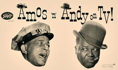 Amos 'n' Andy is a situation comedy set in the African-American community. It was very popular in the United States from the 1920s through the 1950s on both radio and television. Last telecast was 6/11/53