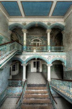 Abandoned sanatorium, Germany
