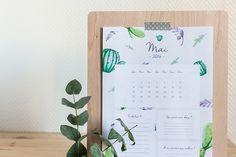 Leanna Earle: Le calendrier du mois de mai 2016