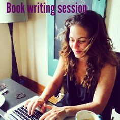 book writing session