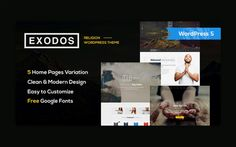 Buy Exodos - Church WordPress Theme by modeltheme on ThemeForest. Want to create an incredible Church/Nonprofit WordPress website? Sick of testing and evaluating themes? Light Font, Church Events, Religion, Themes Free, Html Templates, 404 Page, Website Themes, Event Calendar, Premium Wordpress Themes