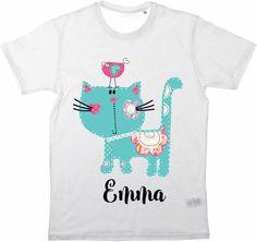 Kinder T-Shirt Sweet Cat Name von MilaLu auf DaWanda.com