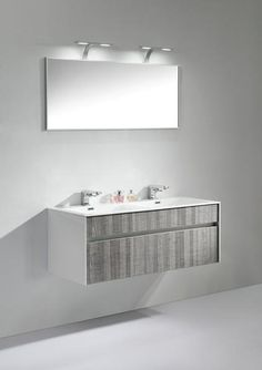 the tona floating wallmounted bathroom vanity features one spacious drawer for storing bathroom essentials