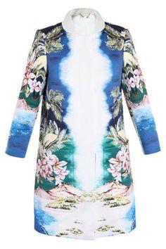 Stella McCartney Resort 2012 Hawaiian-Print Coat Profile Photo