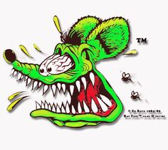 Ed Big Daddy Roth, & Rat Fink,