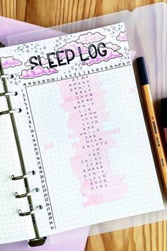 Looking to start logging your sleep times in your bujo? Check these awesome bullet journal sleep trackers to get you started! Bullet Journal Tracker, Bullet Journal Designs, February Bullet Journal, Bullet Journal Notebook, Bullet Journal Aesthetic, Bullet Journal School, Bullet Journal Inspo, Bullet Journal Spread, Bullet Journal Layout
