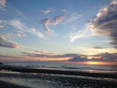 Beautiful Dawn in Cervia