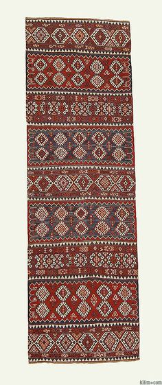 K0003592 Antique Malatya Kilim Runner   Kilim Rugs, Overdyed Vintage Rugs, Hand-made Turkish Rugs, Patchwork Carpets by Kilim.com