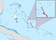 Long Island is an island in the Bahamas that is split by the Tropic of Cancer. Its capital is Clarence Town. Long Island is one of the Districts of the Bahamas and is known as the most scenic island in the Bahamas. The population is roughly 3,000 inhabitants.