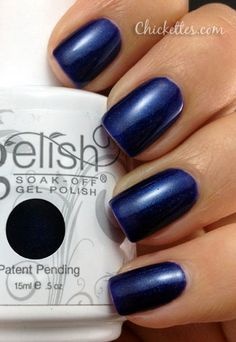 Gelish Caution Color Swatch from chickettes.com. Gelish polish is available at www.esthersnc.com