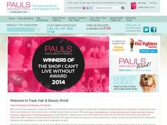 Pauls hair world are one of the leading suppliers of hair extensions and wigs in the North West. With stores in Manchester, Liverpool and Scotland and the most recent Liverpool Parker Street store and salon.