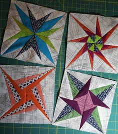 A Quilter's Table: Four Lucky Stars