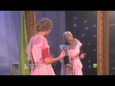 Taylor Swift Scared on Ellen 5 Times.  Taylor is a spoilsport and Ellen should keep doing this until the little brat has a heart attack.