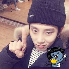 ☝  { #Kanghan #JoYoungBin #Leader #MVP #PHEntertainment #Kpop } ©Instagram @kang.hann