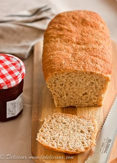Whole Wheat Bread @delicieux