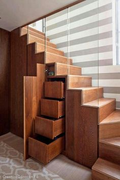 love stairs and drawers