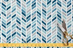 Tiled Chevrons by Hooray Creative at minted.com
