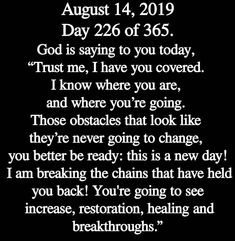 August this new chapter will be amazing. Prayer Verses, God Prayer, Prayer Quotes, Bible Verses Quotes, Faith Quotes, Affirmation Quotes, Spiritual Prayers, Religious Quotes, Names Of Jesus