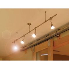 14 best gallery lighting images on pinterest track lighting kits buy the lbl lighting satin nickel direct shop for the lbl lighting satin nickel single pre configured straight rail track lighting kit from the aloadofball Gallery
